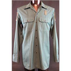 "Wayward Pines (2015–2016) - Terrence Howard ""Sheriff Pope"" Police Shirt"