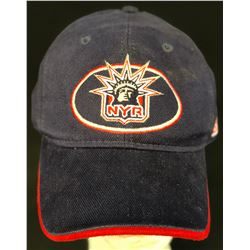 Spin City (1996–2002) - Black & Red Stripped New York Rangers Hockey Cap