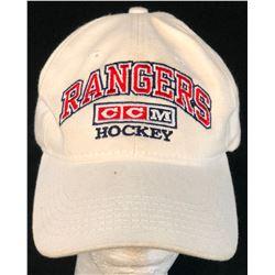 Spin City (1996–2002) - White CCM New York Rangers Hockey Cap