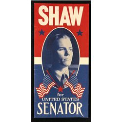 "Fantastic Beasts and Where to Find Them (2016) - ""Shaw For United States Senator"" Flyer"