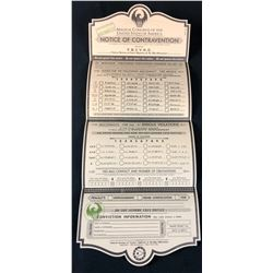 "Fantastic Beasts and Where to Find Them (2016) - ""Notice Of Contravention"" Form"