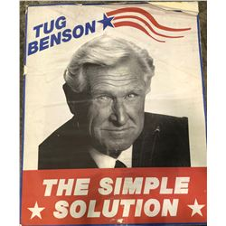 Hot Shots! Part Deux (1993) - Tug Benson (Lloyd Bridges) Campaign Poster - Version A