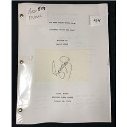The Mary Tyler Moore Show (1970–1977) - Original 1975 Script