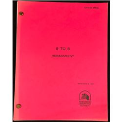 "Nine to Five (1982–1988) - Original Production Used Script for Episode ""Herassment"""
