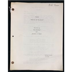 "Nine to Five (1982–1988) - William Theiss Original Production Used Script for Episode 1 ""New Kid on"