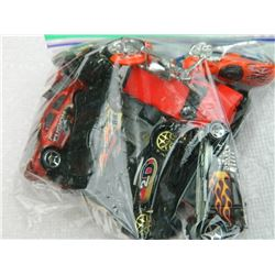 BAG OF ASSORTED TOY CARS - 10 TTL