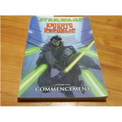 BOOK - STAR WARS - KNIGHTS OF THE OLD REPUBLIC - Vol. 1 COMMENCEMENT
