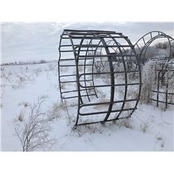 2 - Tombstone bale feeders