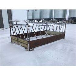 Rectangle Panel style bale feeder