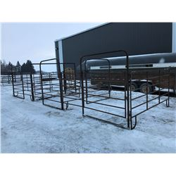 Maternity Pen w/headgate, 3 pens