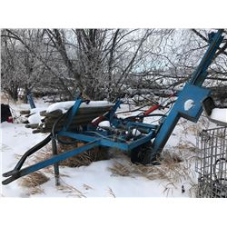 Innovation Post pounder,  4 way hyd. adjust, PTO drive, good condition