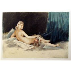 Martin Broadbent, Odalisque Revisite, Lithograph