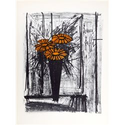 Bernard Buffet, Bouquet, Lithograph