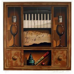 James Carter, Music Box (Piano), Serigraph