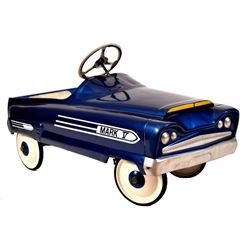 Mark V Pedal Car Blue & White