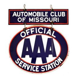AAA Service Sign Automobile Club of Missouri