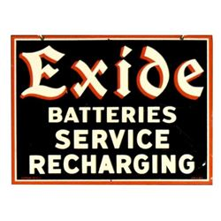 Exide Service Sign Double Sided Sign