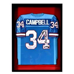 Earl Campbell Autographed Houston Oilers Jersey