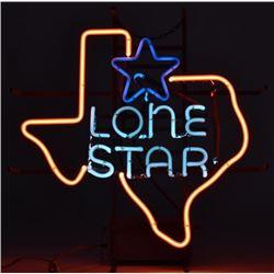 Vintage Lone Star Beer Neon