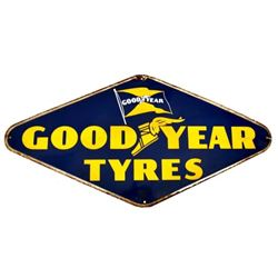 Goodyear Tyres Advertising Sign