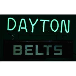 Dayton Belts Neon Sign