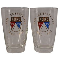 Ford 50th Anniversary 1903-1953 Glasses