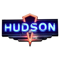 Hudson Dealership Neon Sign