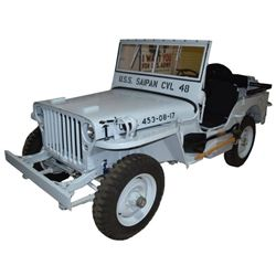 1943 FORD GPW Navy Jeep Corpus Christi Texas WWII