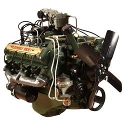 1949 Oldmobile Rocket V8 Engine on stand