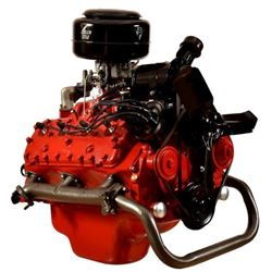 1953 Ford Flathead V8 Engine on stand