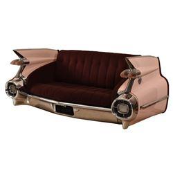 1959 Pink Cadillac  Sofa