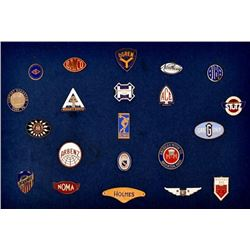 Museum Collection of Hood Ornament Badges