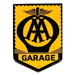 AA Automobile Association Garage Sign Double Sided