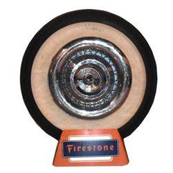 Firestone Tire Advertising Display