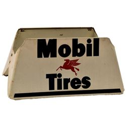 Mobil Tires Advertising Display Stand