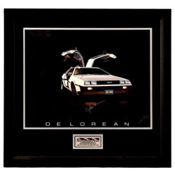 Autographed  DeLorean Executives Lithograph