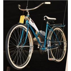 Vintage Teal Bicycle