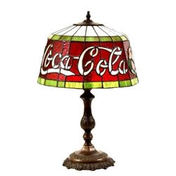 Coca-Cola Stained Lamp