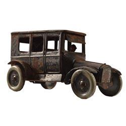 Strauss Mechanical Toys Dizzie Lizzie Tin Toy Car