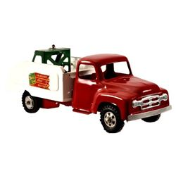 Buddy L Emergency Wrecker Pressed Steel Toy Truck