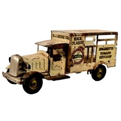 Metal Craft Heinz  Advertising Toy Delivery Truck