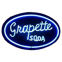 Grapette Soda Neon Sign