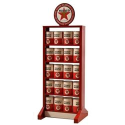 Texaco Motor Oil Display Stand