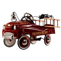 Volunteer Fire Dept. Pedal Fire Truck