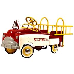 City Fire Dept. Pedal Fire Truck