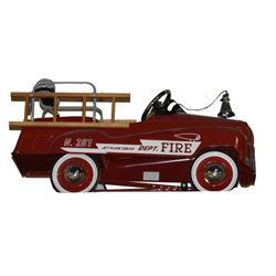 """Fire Dept. Pedal Car Fire Truck """"Jet Flow Drive"""""""