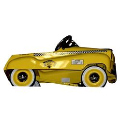 Yellow Taxi Pedal Car