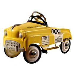 INSTEP Yellow Taxi Pedal Car