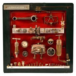 Valve Lubrication & Parts Teaching Display