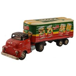 Ellis Foods Toy Delivery Truck
